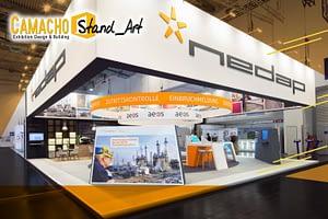 Camacho Stand_Art empresa experta en diseñar stands usando el diseño de exposiciones de alto impacto