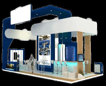 Características de servicio de construcción de stands. Premium 3