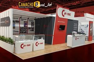 Cómo influye el diseño de exposiciones en los stands de Camacho Stand_Art