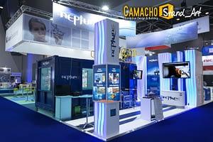 Atribuciones de los stands de Camacho Stand_Art según el diseño de exposiciones