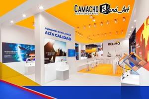 ¿Por qué la empresa de diseño Camacho Stand_Art es líder en crear stands teniendo en consideración el diseño de exposiciones?