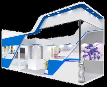 Características de servicio de construcción de stands. Premium 2